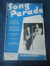 +SONG PARADE N°2 1955  LES PAUL MARY FORD FRANK SINATRA DUKE JEFF CHANDLER
