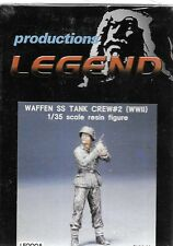 Legend Waffen SS Tank Crew #2 German Combat Figure 1/35 Resin WW II Soldier 0005
