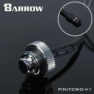Barrow G1/4 - 10k Temperature Sensor Blank Plug - Shiny Silver