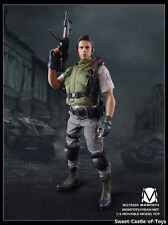 1/6 Momtoy Action Figure Biohazard Resident Evil Chris Redfield S.T.A.R.S Alpha