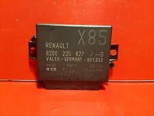 RENAULT CLIO 3 SCENIC 2 ESPACE 4 CALCULATEUR RADAR DE RECUL REF 8200235627 D