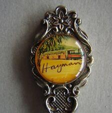 Hayman Cameo Silverplated Sugar Shell Souvenir Spoon Teaspoon