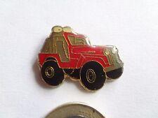 Pin, Metall Pin, Auto Pin, Jeep Cj Willys, rot