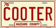 PLAQUE DE VOITURE AMERICAINE-SHERIF FAIS MOI PEUR-COOTER- DECO USA/SUD.ISTE