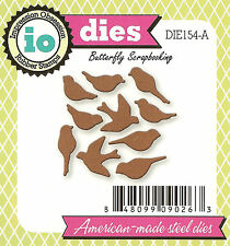 Tiny Birds Set Die Cutting Dies by Impression Obsession DIE154-A New