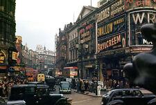 large vintage old london city antique print photo art