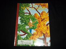 2002 NOVEMBER 18 NEW YORKER MAGAZINE - BEAUTIFUL FRONT COVER - C 4248