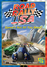 Road Rally USA Racing Game By Carlo A. Rossi A Fun Fair game from Mayfair Games