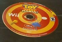 Nintendo Wii: Disney Toy Story Mania Clean and Tested Free Shipping - Disc Only!