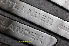 Door sill scuff plate Guards For Mitsubishi Outlander 2007-2012 07 08 09 10 11