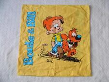 """Boule & Bill et Jean Roba Comic 25"""" Square Pillow Case Cover Cotton ~ EXCELLENT!"""