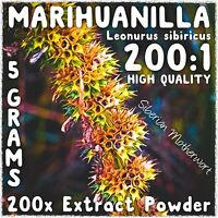Marihuanilla | (Leonurus sibiricus) 200x Extract Powder [5 Grams] Honeyweed