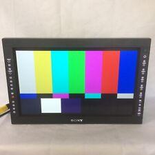 """Sony LMD-1750W HD-SDI HDMI 3G broadcast television monitor 17"""""""