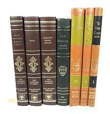 The Harvard Classics Collectors & Deluxe Edition + Britanica Great Book Lot Of 7