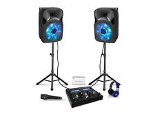 Technical Pro All-in-One Portable DJ Set (9-Piece)