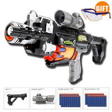 Rapid Fire Gun Strike Soft Darts Elite Gift Children Submachine Nerf Style Toy