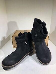 Birkenstock Luton Women's Size 10 (EU41)Reg Black Leather Boots X7-1576