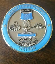 Robert Howard Congressional Medal of Honor MOH Ranger Challenge Coin Rare