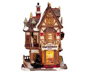 LEMAX - Tannenbaum Christmas Shoppe / Weihnachtsdorf Winterdorf Modellbau