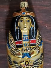 Sarcophagus Kurt S Adler Polonaise Egyptian Collection by Komozja New