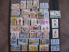 TUNISIE (1959-1999) UN LOT DE 41 TIMBRES