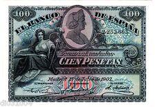 Espagne SPAIN ESPANA Billet 100 PESETAS 1907  P64  VF ++ / XF