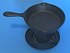 Cast Iron Skillet Wax Warmer and Stand - Primitive Country Decor