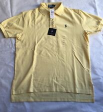 RAULPH LAUREN man Short Sleeve Yellow  New Shirt  L