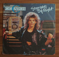 "Single 7"" Vinyl C.C. Catch - Strangers by night hansa 108147-100"