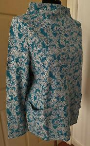 SEASALT TEAL Trailing Vine Anchorage Oceangoing Sweatshirt Size 10 to 26/28