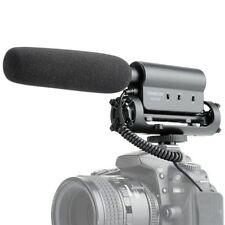 Takstar Sgc-598 Recording Mic Microphone for Nikon Canon Camera Camcorder DSLR