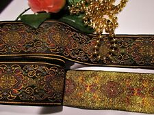price for 1 yard Handmade Woven Jacquard ribbon  1  1//4 inch wide