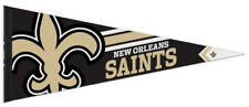 NEW ORLEANS SAINTS Official NFL Logo-Style Premium Felt Collector's PENNANT