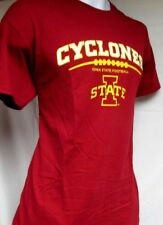 Iowa State CYCLONES, Adult Large T-Shirt, Licensed 2015 Football schedule