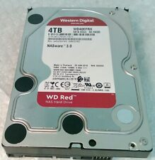 """4TB WESTERN WD WD40EFRX RED NAS 3.5"""" SATA hard disk drive"""