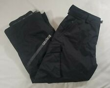 BURTON Men's Black Snowboard Ski Pants Waterproof Adjustable Waist Sz XXL B11A