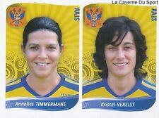 597 TIMMERMANS - KRISTEL VERELST BELGIQUE STVV STICKER FOOTBALL 2009 PANINI