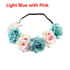 New Wedding Flower Wreath Crown Headband Beach Floral Garlands Hair band Decor