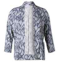 Neu C&A Yessica Damen Blazer Jacke Bluse Blusenjacke Paisley Muster - Gr. 52/54