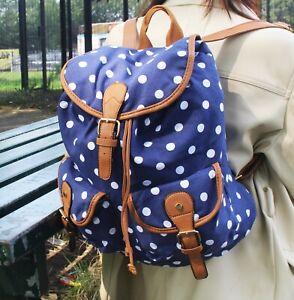 Kukubird Polka Dot / Owl Backpack Rucksack Free Delivery in UK