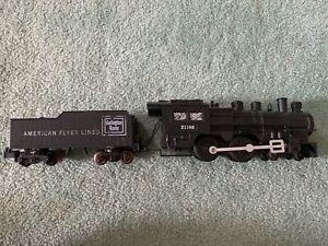 American Flyer #21166 Burlington Route Casey Jones engine locomotive tender 60s