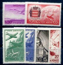 MONACO 1942 267-272 ** POSTFRISCH SATZ PA2-7(49161