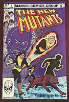 The New Mutants 1983 Vintage #1 March Origin of Karma Marvel Comic Book
