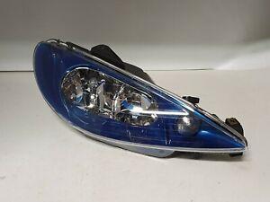 Headlight for Peugeot 206 CC 2000 - 2009 Right - Offside OEM 89010862