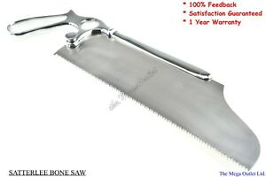"""SATTERLEE BONE SAW Blade Size 9"""" - SURGICAL VETERINARY Orthopedic Instruments"""