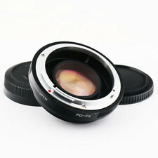 0.72x Focal Reducer Speed Booster Canon FD lens to Fujifilm X Adapter FX FUJI