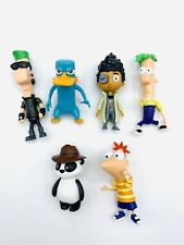 Disney Phineas And Ferb Figures- Lot Of Six