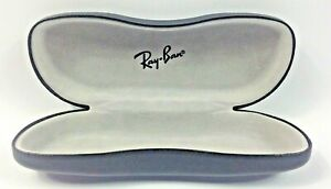 NEW Ray Ban leather BLACK EYEGLASS CASE  Hipster.
