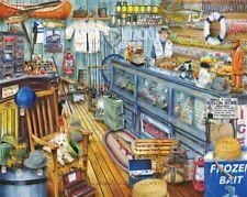 Springbok's 1000 Piece Jigsaw Puzzle The Bait Shop