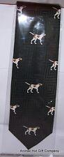 Pointer Dog Silk Tie